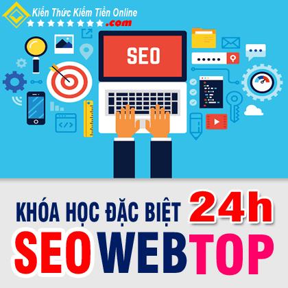 Khóa học đặc biệt 24h Seo Web Top Google