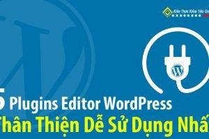 Plugins Editor WordPress thân thiện dễ sử dụng nhất