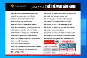 Tải Chương Trình học thiết kế Web Shop Bán Hàng Miễn Phí